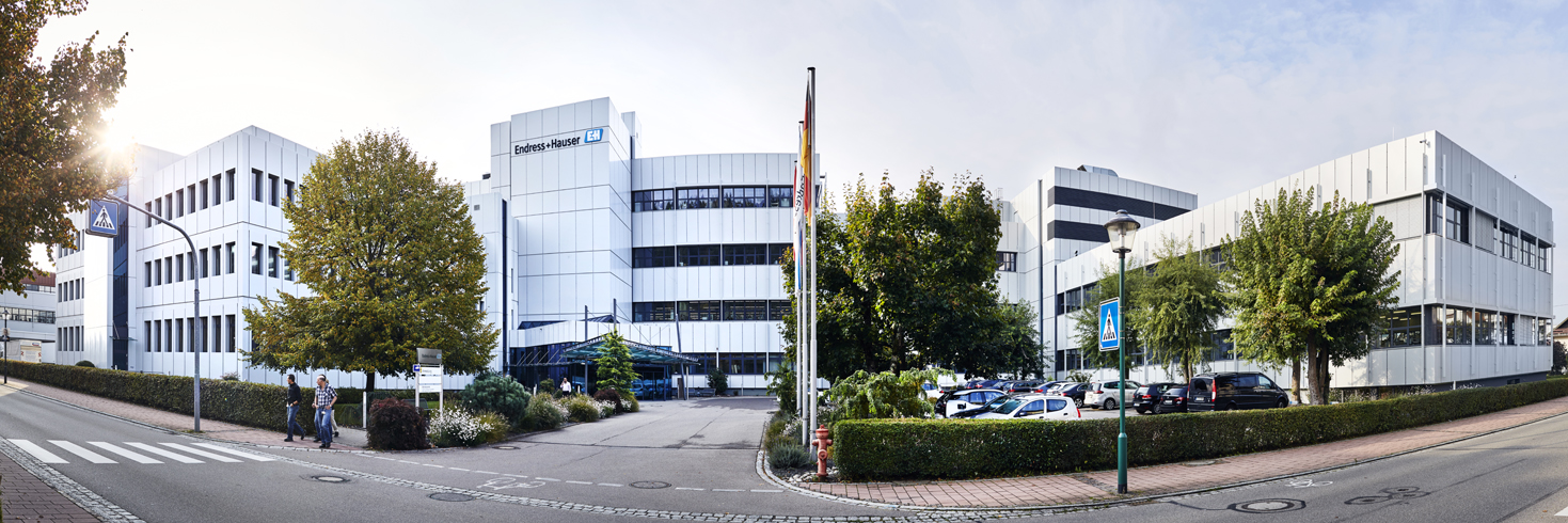Production center in Maulburg, Germany